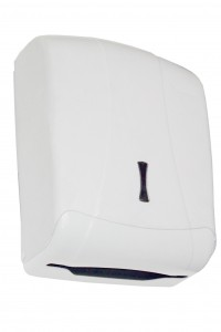 DISPENSADOR TOALLA Z-600 IBIZA BLANCO